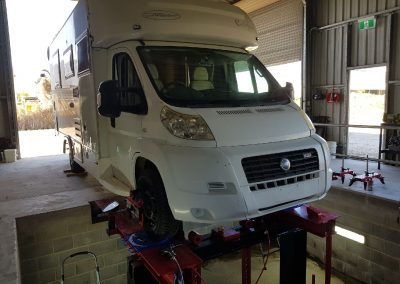 Campervan Wheel Alignment Cairns